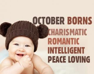 Ja esi dzimis oktobrī. Tavs raksturojums atkarībā no dzimšanas datuma