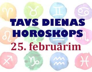 Tavs dienas horoskops 25. februārim