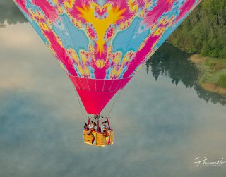 """Video: """"Melo-M"""" uzstājas gaisa balonā kilometra augstumā"""