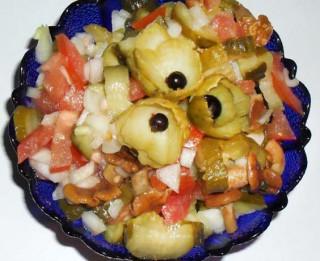 Karaliskie rudens salāti ziemā