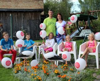 Piecu bērnu mamma Agnese par savu īpašo specvienību un dzīves košumu