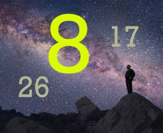 Numeroloģiskais raksturojums tiem, kas dzimuši 26.,17. un 8. datumos