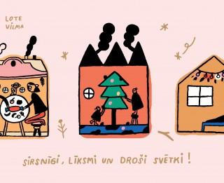 4. Adventē Rīgā iedzīvotājus aicina skatīties koncertus tiešsaistē un doties pastaigā pa svētku noskaņā rotātiem parkiem apkaimēs