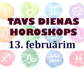 Tavs dienas horoskops 13. februārim