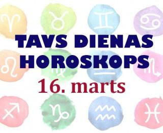 Tavs dienas horoskops 16. martam