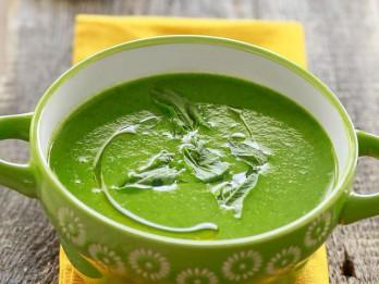Zaļā pavasara zupa