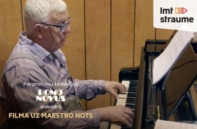 "Video: ""Homo Novus"" aizkadrā: filma uz Raimonda Paula nots"