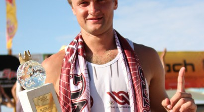 """King of the Beach"" triumfē Ingars Ivanovs"