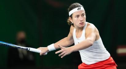 Latvijas tenisistes uzvar Indiju un tiek uz finālturnīra kvalifikāciju