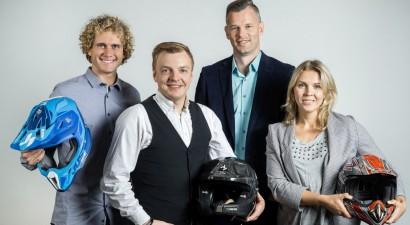 """""""eXi"""" trešo sezonu ievadīs tehnisko sporta veidu pārstāvji - Caune, Karro un Štolcermane"""