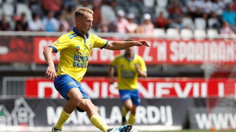 Andrejs Cigaņiks. Foto: cambuur.nl