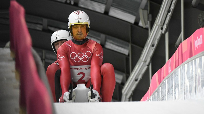 Brāļi Andris un Juris Šici. Foto: Latvijas Olimpiskā komiteja/I.Znotiņš