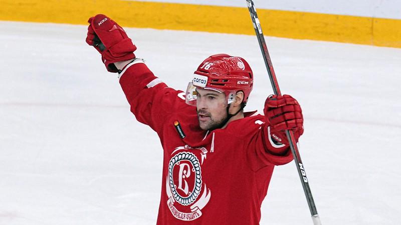 Kaspars Daugaviņš. Foto: Deniss Dudujevs, HC Vityaz