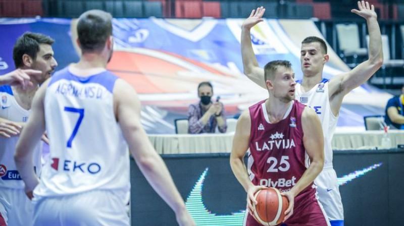 Mārtiņš Laksa. Foto: FIBA