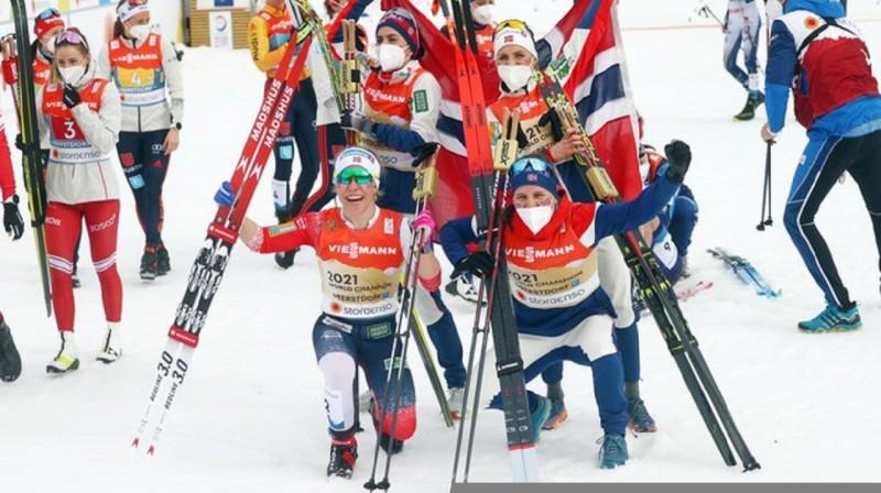 Norvēģijas kvartets. Foto:KAI PFAFFENBACH/Reuters