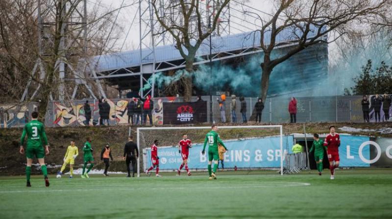 """""""Metta"""" ir vienīgā komanda, kas jaunajā sezonā vēl nav guvusi punktus. Foto: FK Liepāja"""