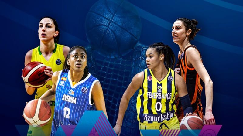 Eirolīgas pusfināli sāksies plkst. 16:00 un 21:00. Foto: FIBA