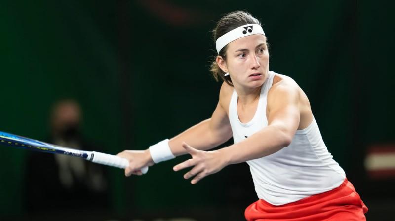 Anastasija Sevastova. Foto: LTS/Kaspars Volonts