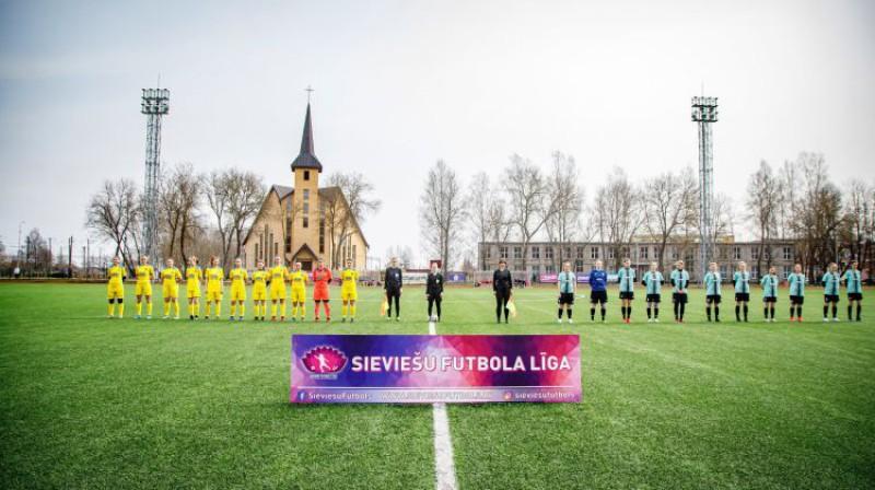 Foto: Sieviešu futbols