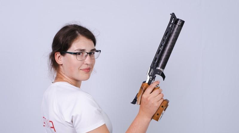 Agate Rašmane. Foto: Latvijas Šaušanas federācija