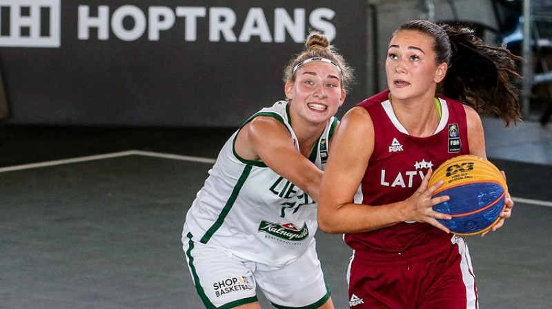 Janeta Rozentāle. Foto: FIBA