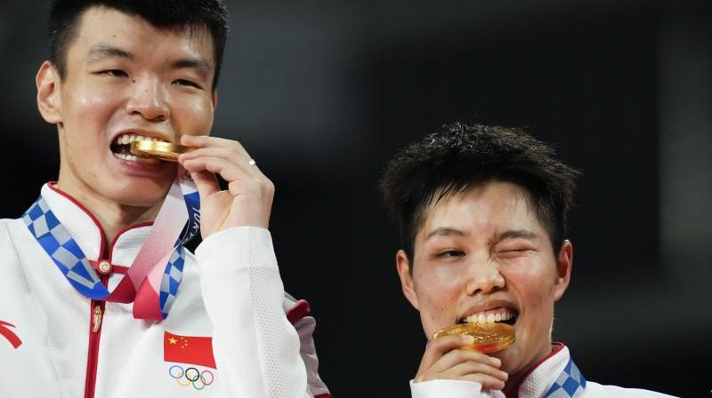 Ljuji Vans un Dunpina Huana. Foto: AP/Scanpix