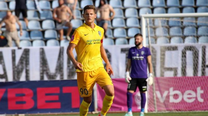 Kaspars Dubra. Foto: fco.com.ua