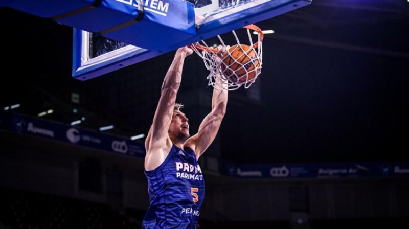 Mareks Mejeris. Foto: FIBA