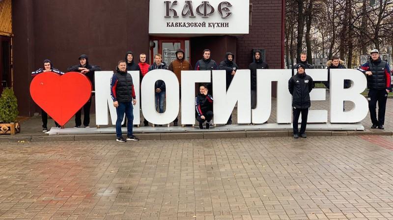 Dobeles TENAX komanda Mogiļevā.