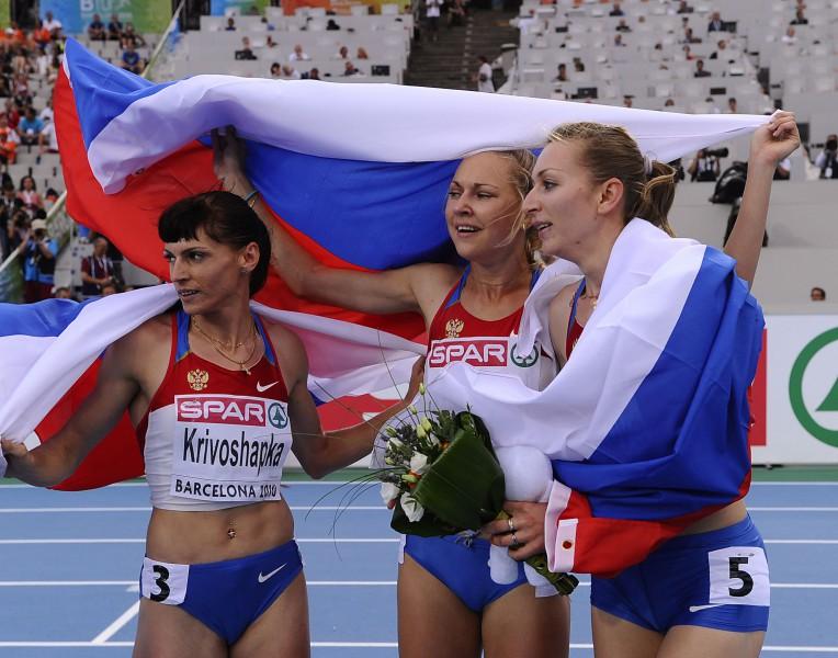 400 metros dāmām triumfē Krievija