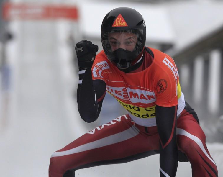 M. Dukurs izcīna Eiropas čempionāta zeltu