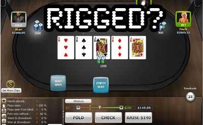 Vai online pokers ir krāpšana?