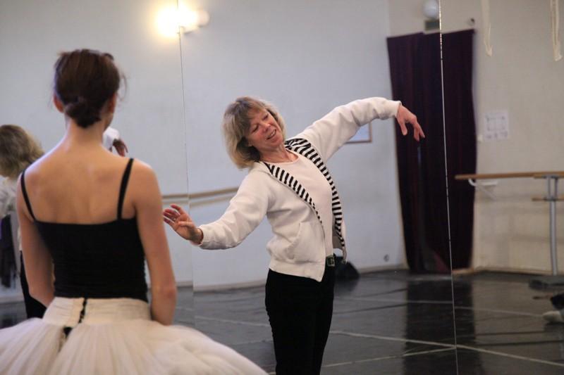 """Gunta Bāliņa: """"Ar savu balerīnas likteni esmu apmierināta!"""""""