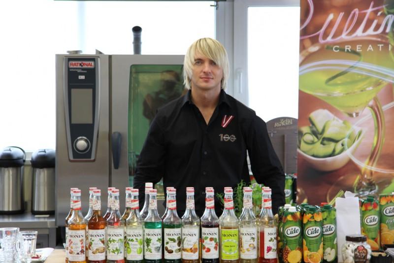 Karstie alkoholiskie kokteiļi no Ingusa Reizenberga