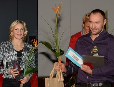 Borodavko un Skujiņa - gada labākie sportisti Rīgā