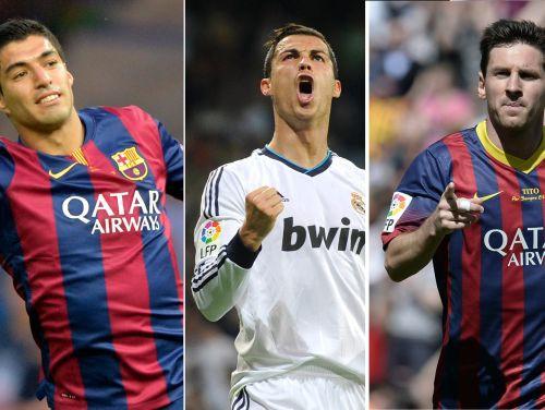 Eiropā labākā futbolista balvai nominēti Svaress, Ronaldu un Mesi