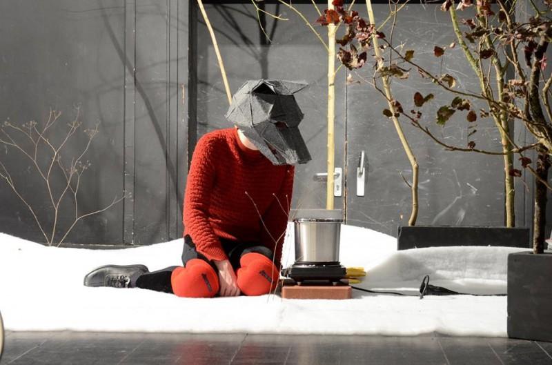 """Viesizrāde """"Wearing a Bear"""" (Vācija) Ģertūdes ielas teātrī"""