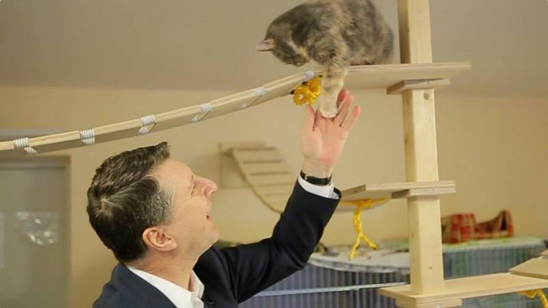 """Valsts prezidents Raimonds Vējonis ciemojas """"Labajās mājās"""""""