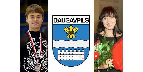 Grigorjeva un Vasiļjevs plūc Daugavpils gada laurus