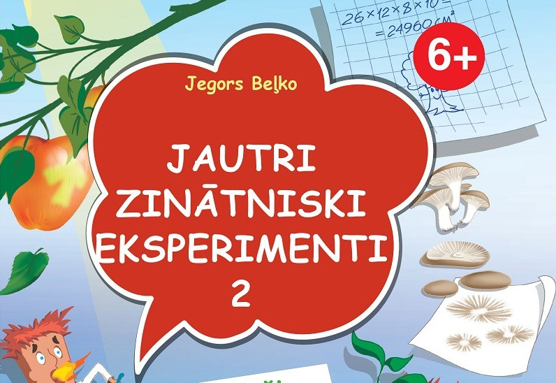 Jautri zinātniski eksperimenti – 2. grāmata