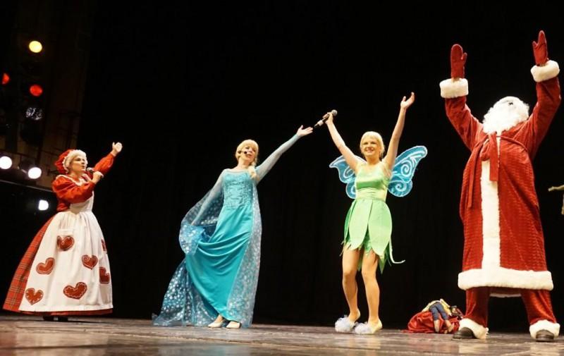 Ziemassvētku fantāzija Rīgas kongresu namā