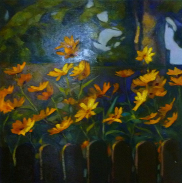 "Birutas Delles gleznu izstāde ""Ciemos Bauskā"" 25.11.2016 - 22.01.2017"
