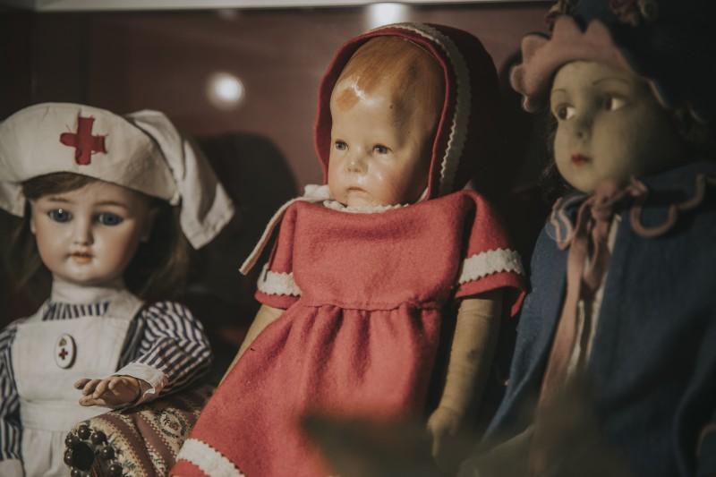 Ungārijas seno rotaļlietu izstāde
