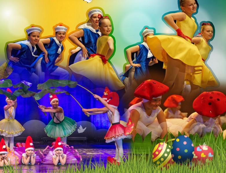 Lieldienu deju koncerts Zaķīšu Pirtiņa
