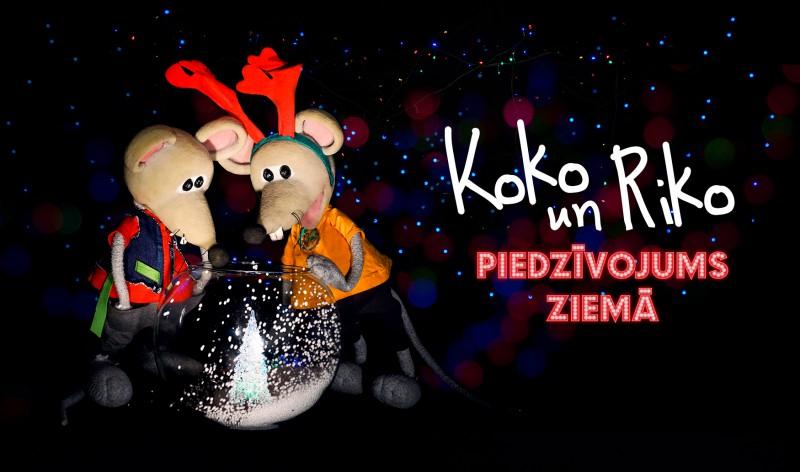 Konkurss Leļļu teātrī – uzdod jautājumu Koko un Riko