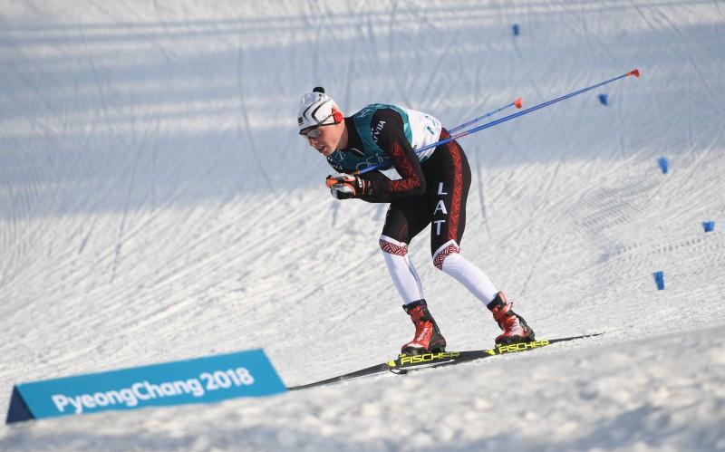 Bikše un Šahno uzvar Latvijas čempionātā distanču slēpošanā