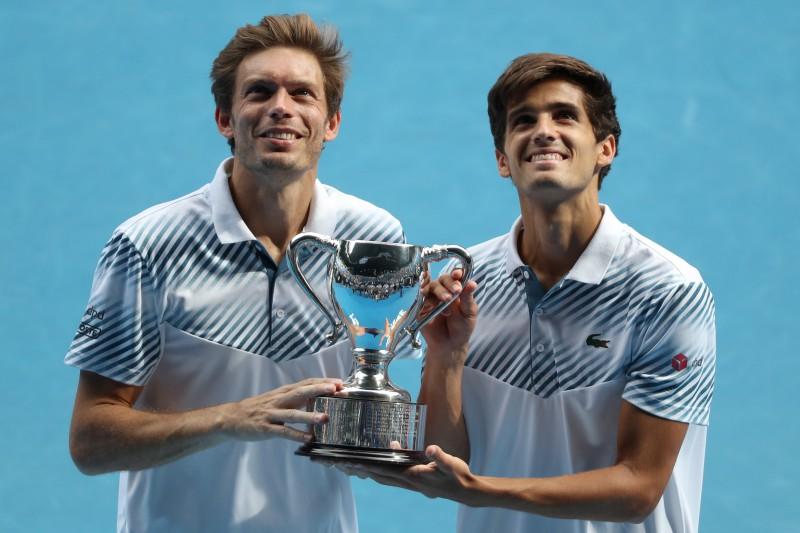 """Erbērs un Maū kļūst par astoto komandu ar iegūtiem visiem četriem """"Grand Slam"""" tituliem"""