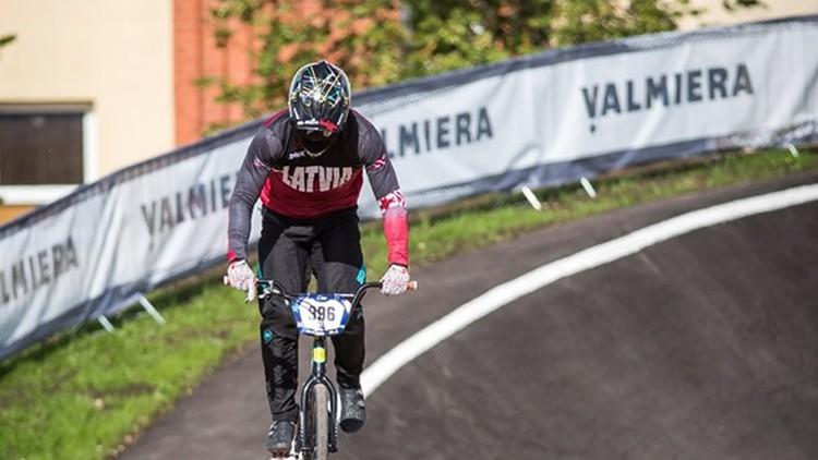 Krīgers un olimpiete Pētersone iekļūst Eiropas BMX finālā, pie medaļām netiek