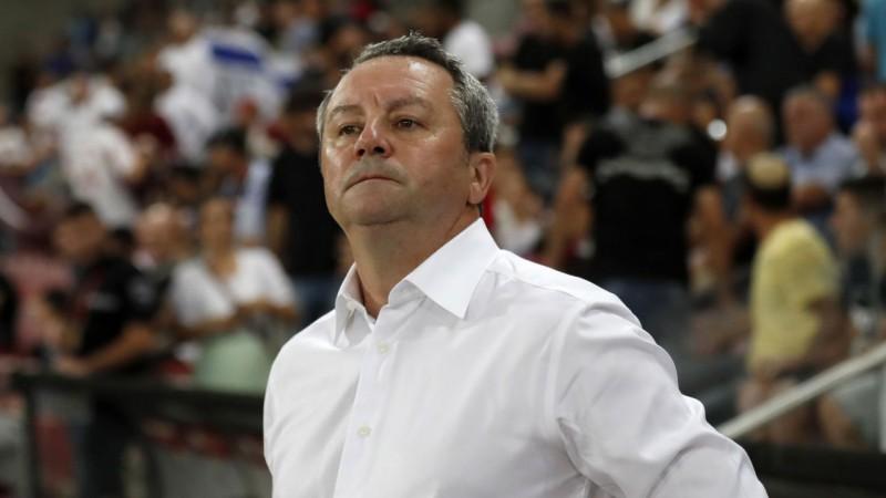"""Stojanovičs: """"Abām komandām bija iespējas gūt vārtus, vairāk guva mājinieki"""""""