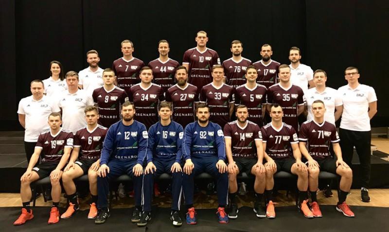 Latvijas handbola izlase gatavojas mačiem janvārī, atcelts Rīgas domes kauss